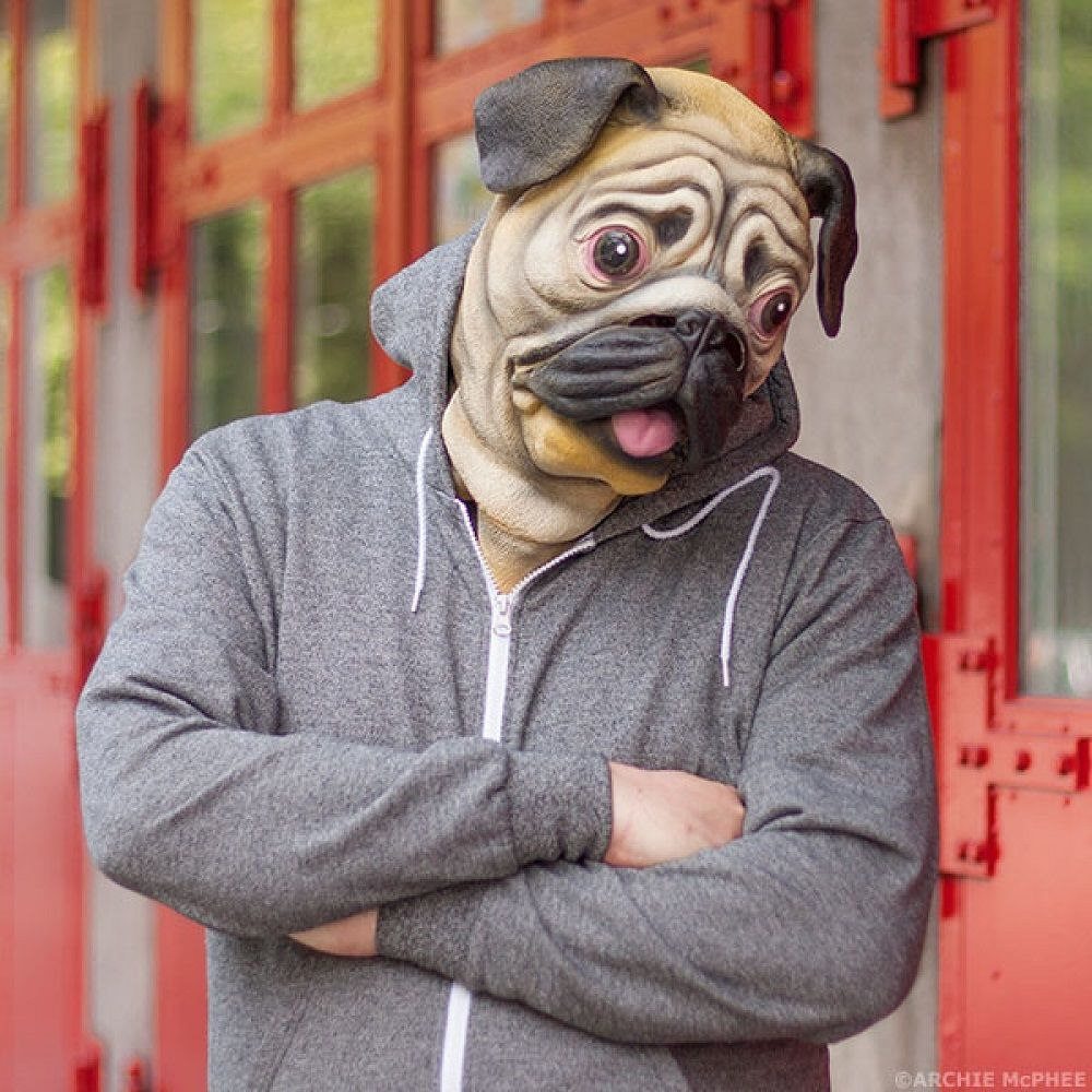 Latex Pug Mask