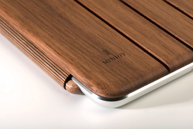 Miniot Wooden Cover and Stand for iPad Mini