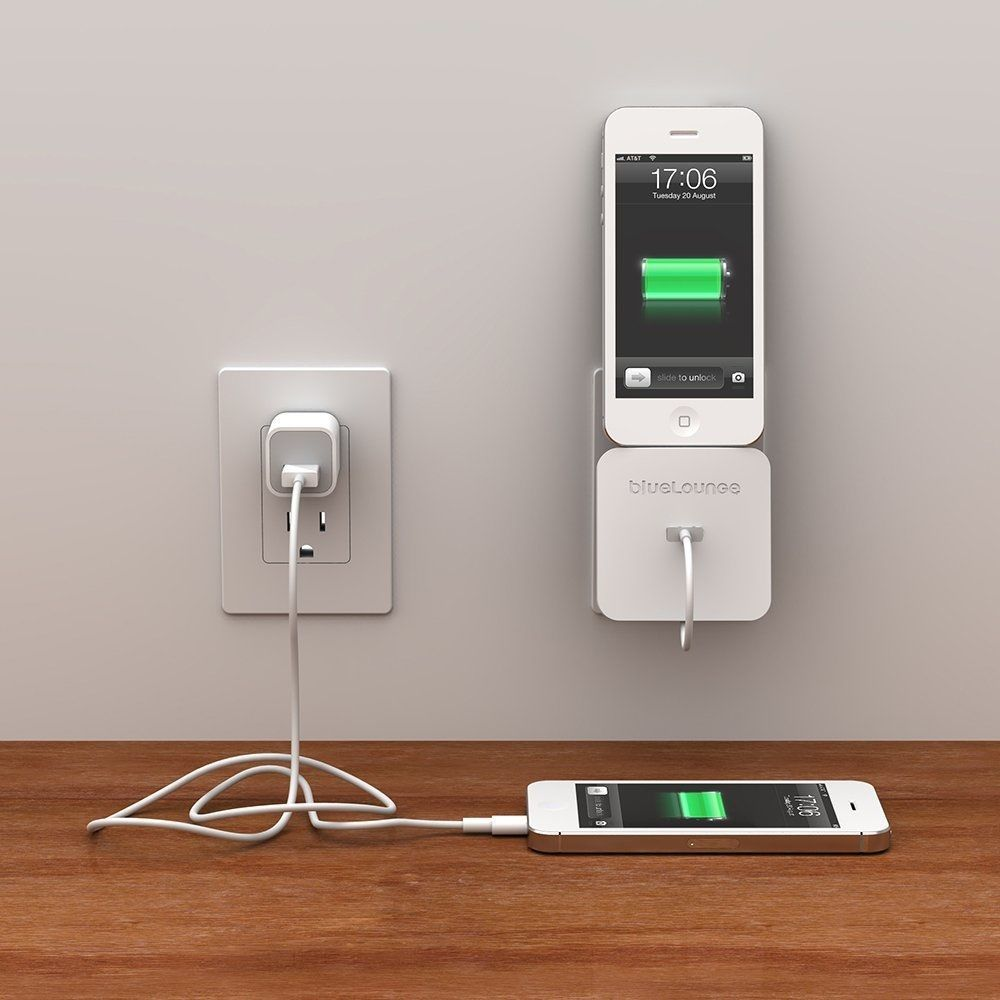 iphone charging dock rolio iphone charger with wall dock by bluelounge 4193
