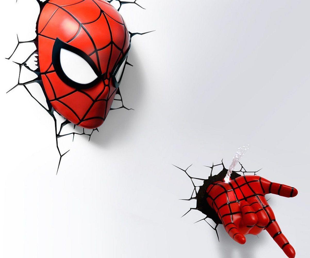 Spider Man Mask Led Light 187 Gadget Flow