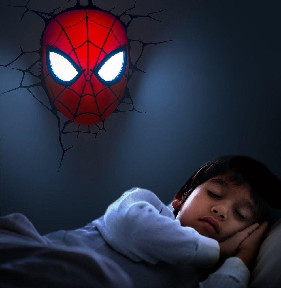 Spider-Man Mask LED Light