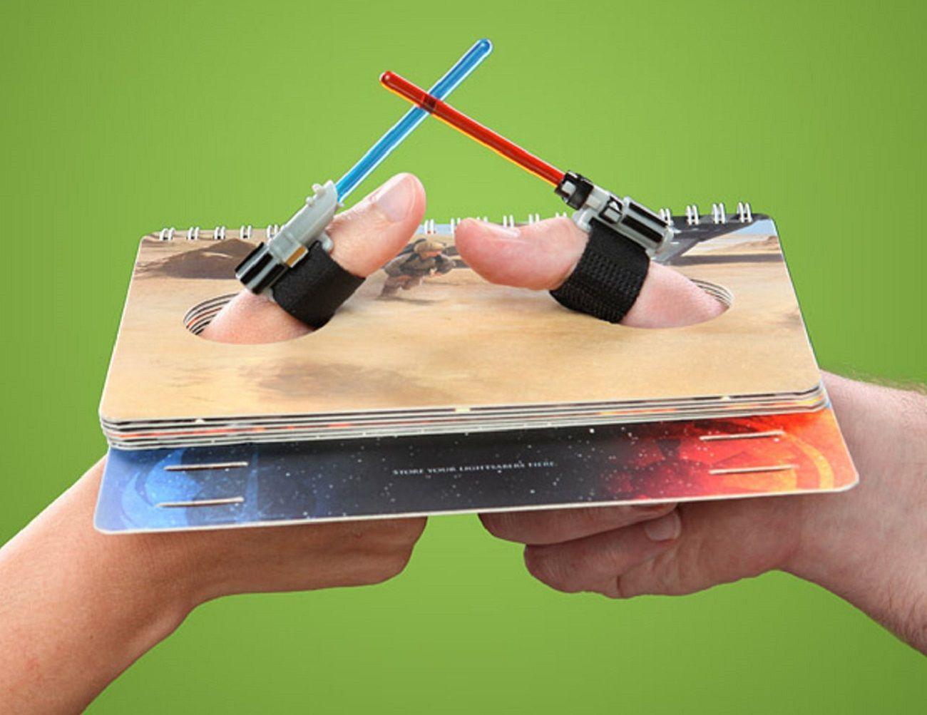 Star Wars Lightsaber Thumb Wrestling Kit loading=