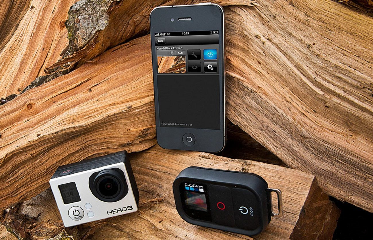 Wi-Fi Remote for GoPro Cameras