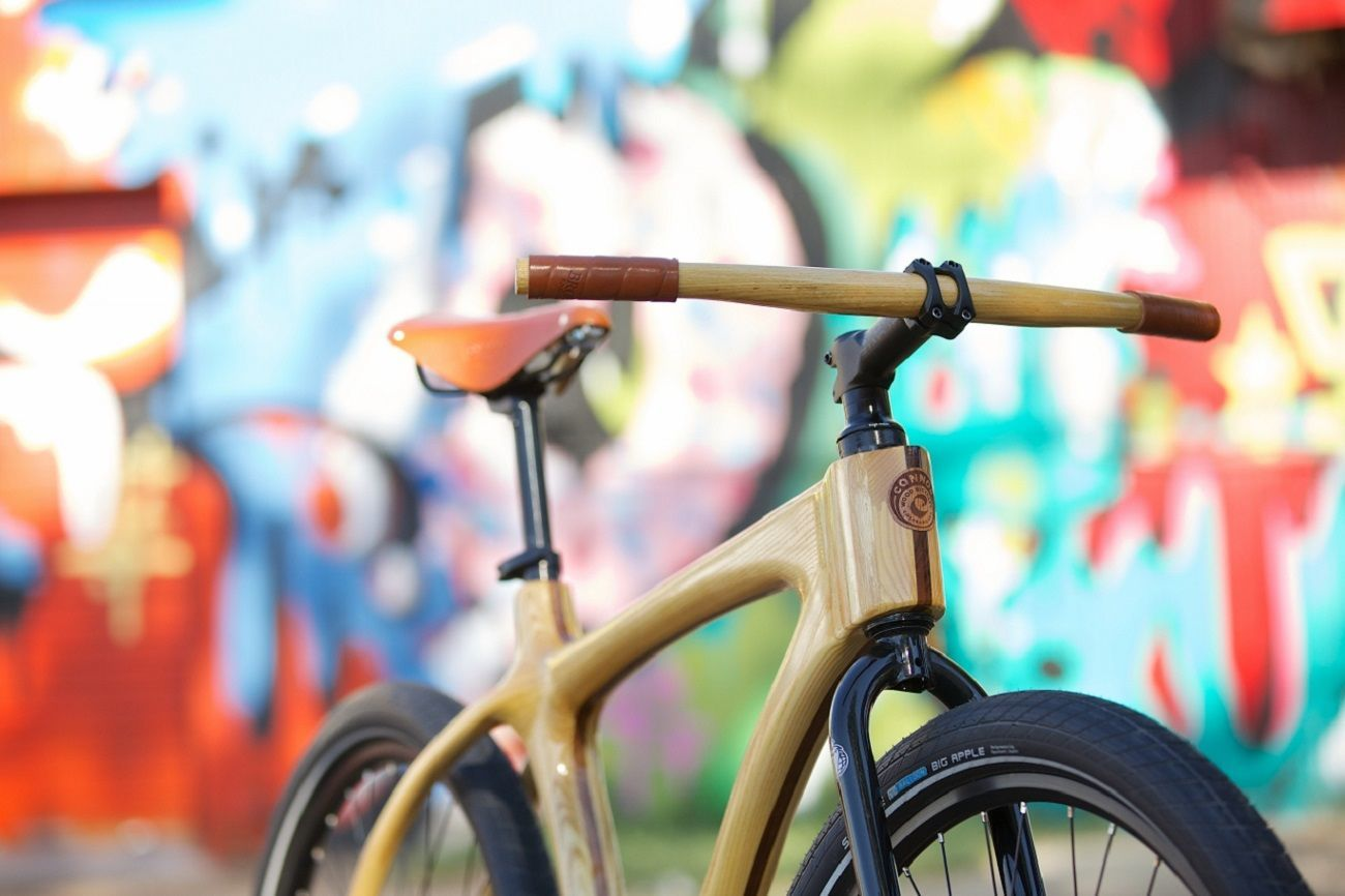 Woody Cruiser From Connor Wood Bicycles