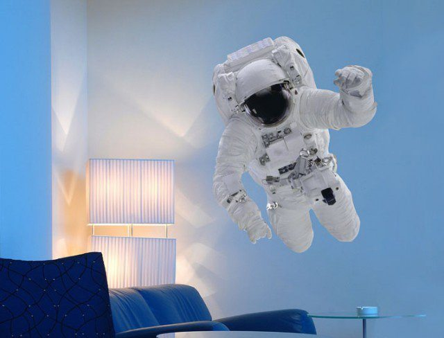 Astronaut Wall Sticker From The Binary Box