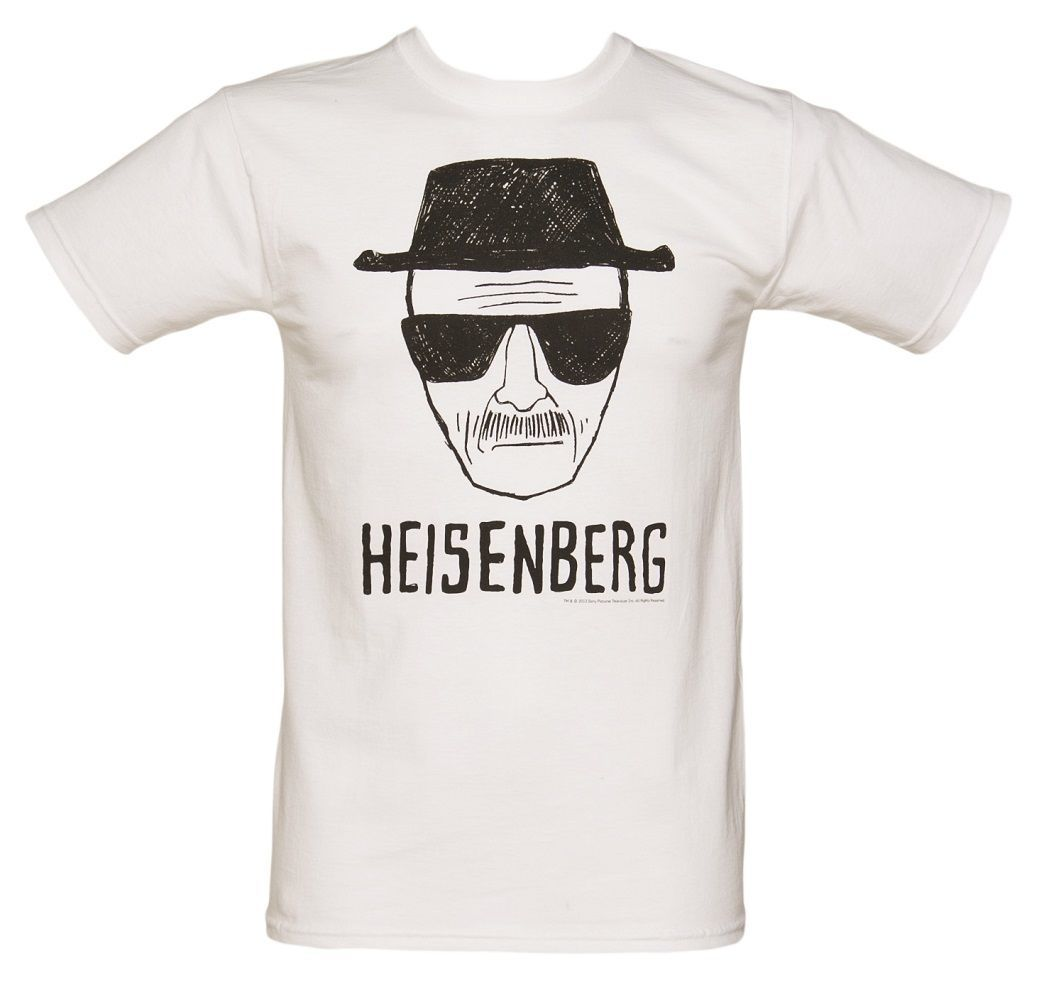 Breaking Bad Heisenberg Short Sketch Tee