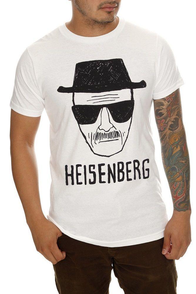 Breaking Bad Heisenberg Short Sketch Tee