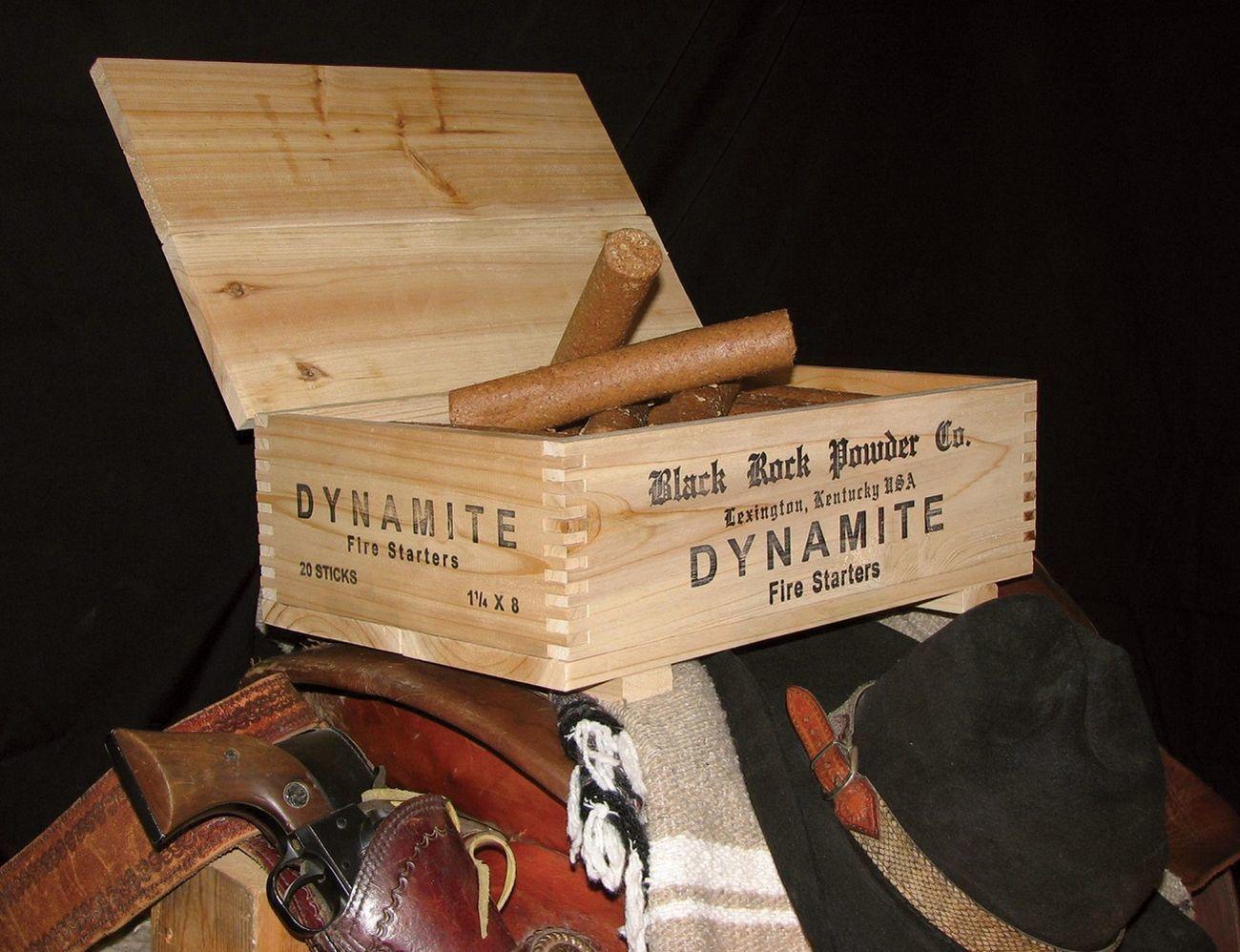 Dynamite Fire Starter Box