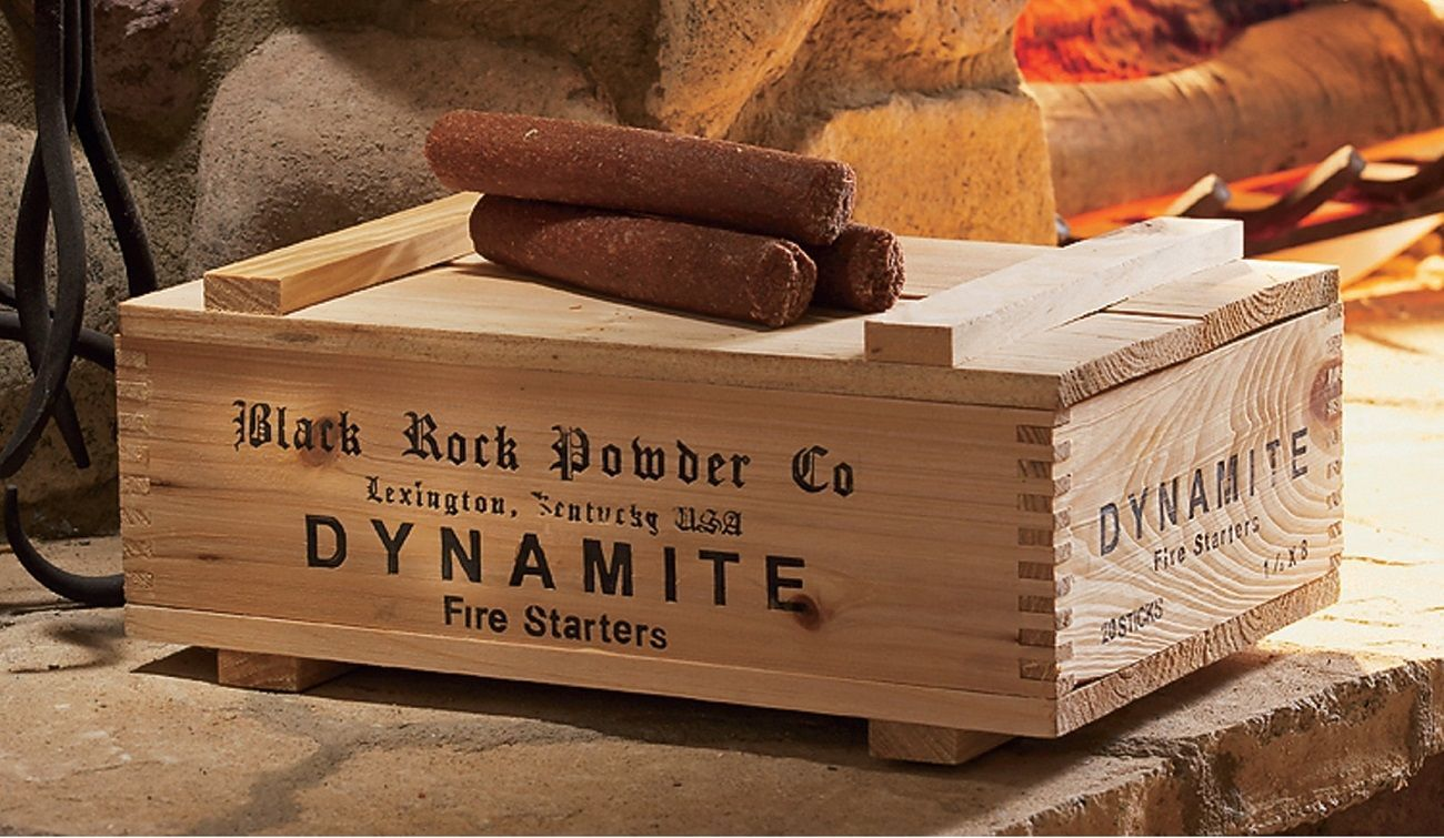 Dynamite+Fire+Starter+Box