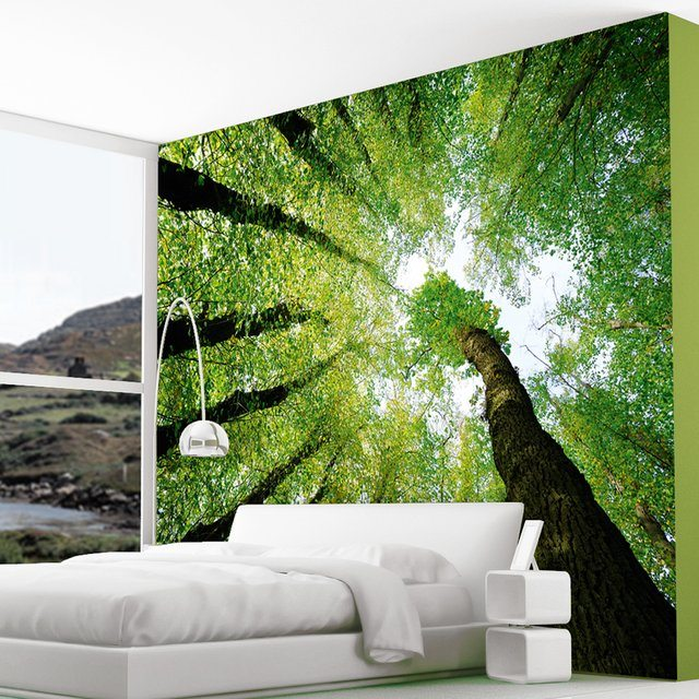 Forest Wall Mural 28+ [ enchanted forest wall mural ] | tree and forest themed