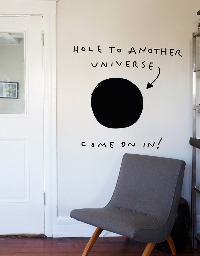 Hole To Another Universe Wall Decal Gadget Flow - Portal 2 wall decals