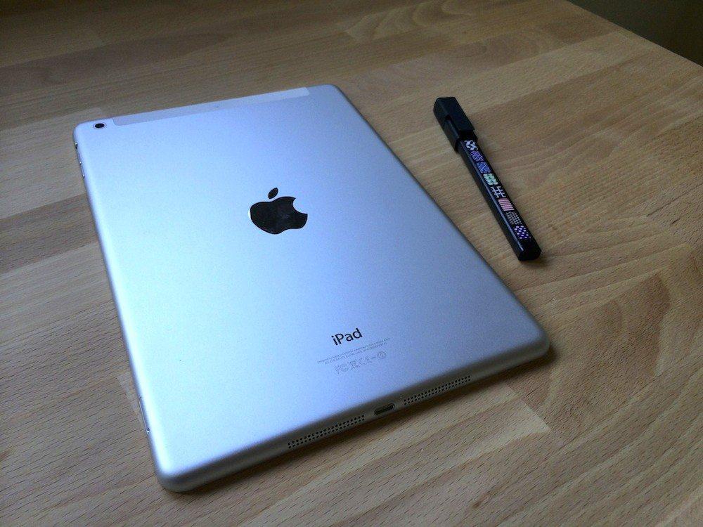 iPad Air 16gb cellular back the gadget flow cool gadgets