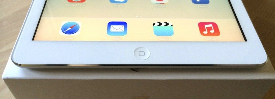 Hands on With The New iPad Air 16GB WiFi & Cellular