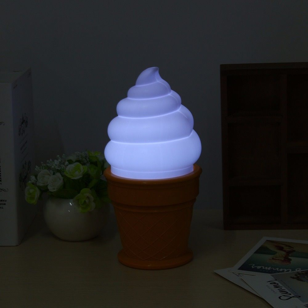 Ice Cream Cone Lamps