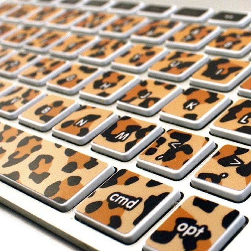 Kidecals Leopard Print Keycals