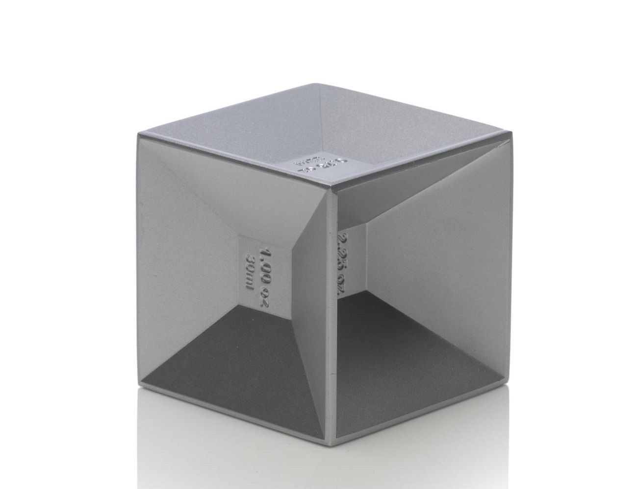Kikkerland Jigger Aluminum Cube