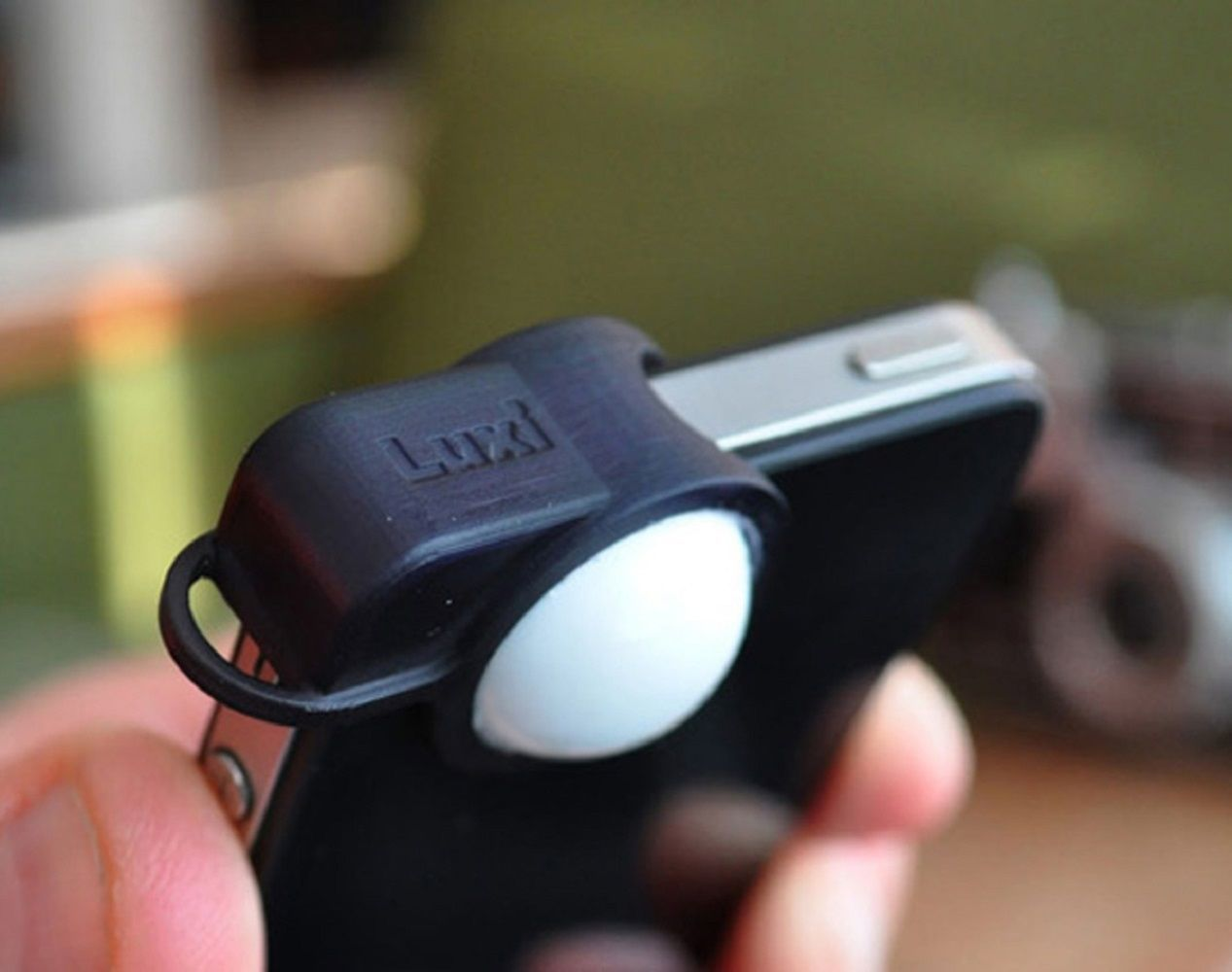 Luxi Light Meter Attachment for iPhone