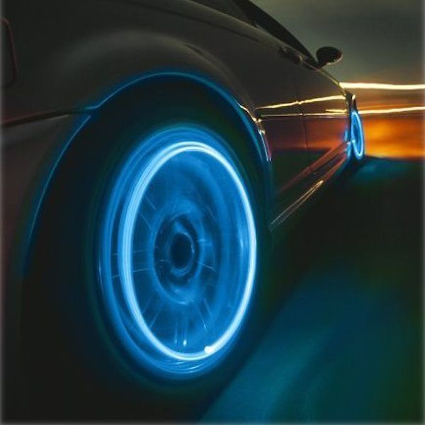 Motion Activated LED Wheel Lights For Car