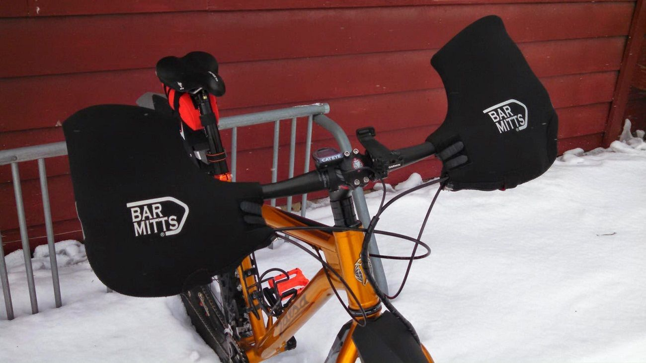 Mountain Bar Mitts For Winter Bike Riding