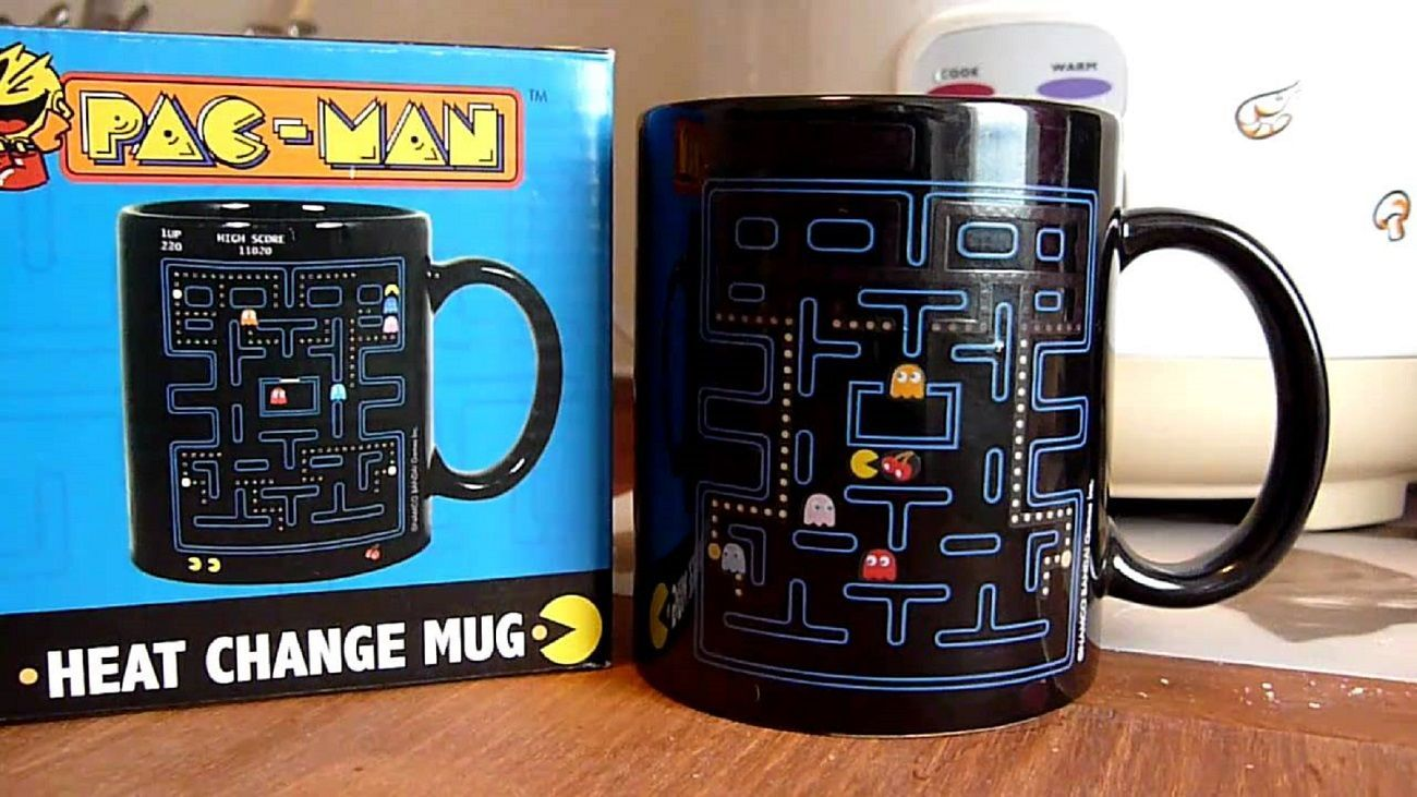 Pac-Man+Heat+Change+Mug
