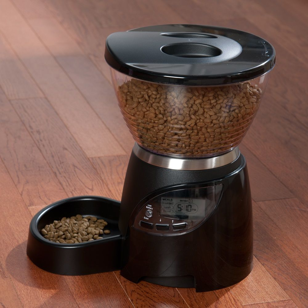 Petmate Le Bistro Programmable Pet Feeder