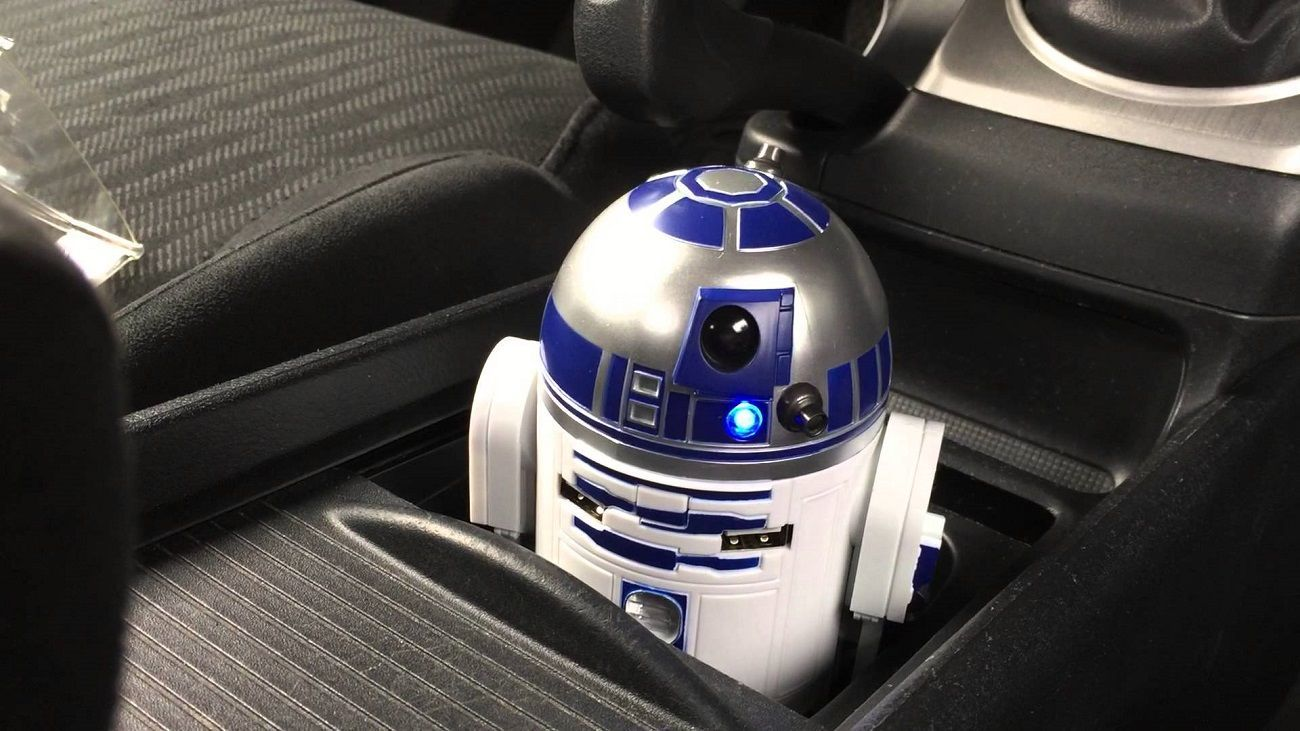 R2-D2+USB+Car+Charger