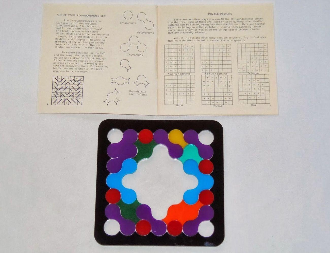 Roundominoes – Creative Puzumi Puzzle