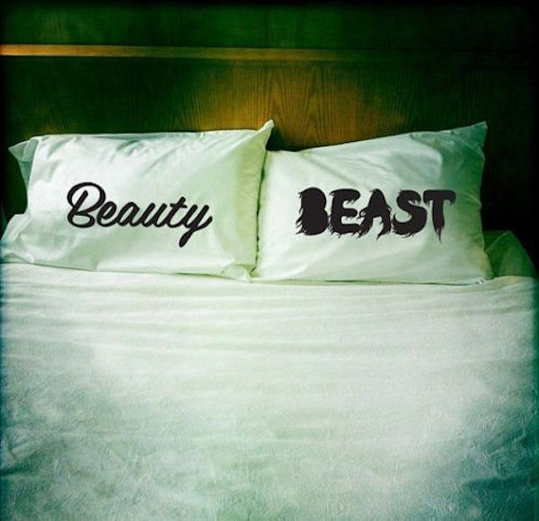 Beauty+And+Beast+Pillowcases