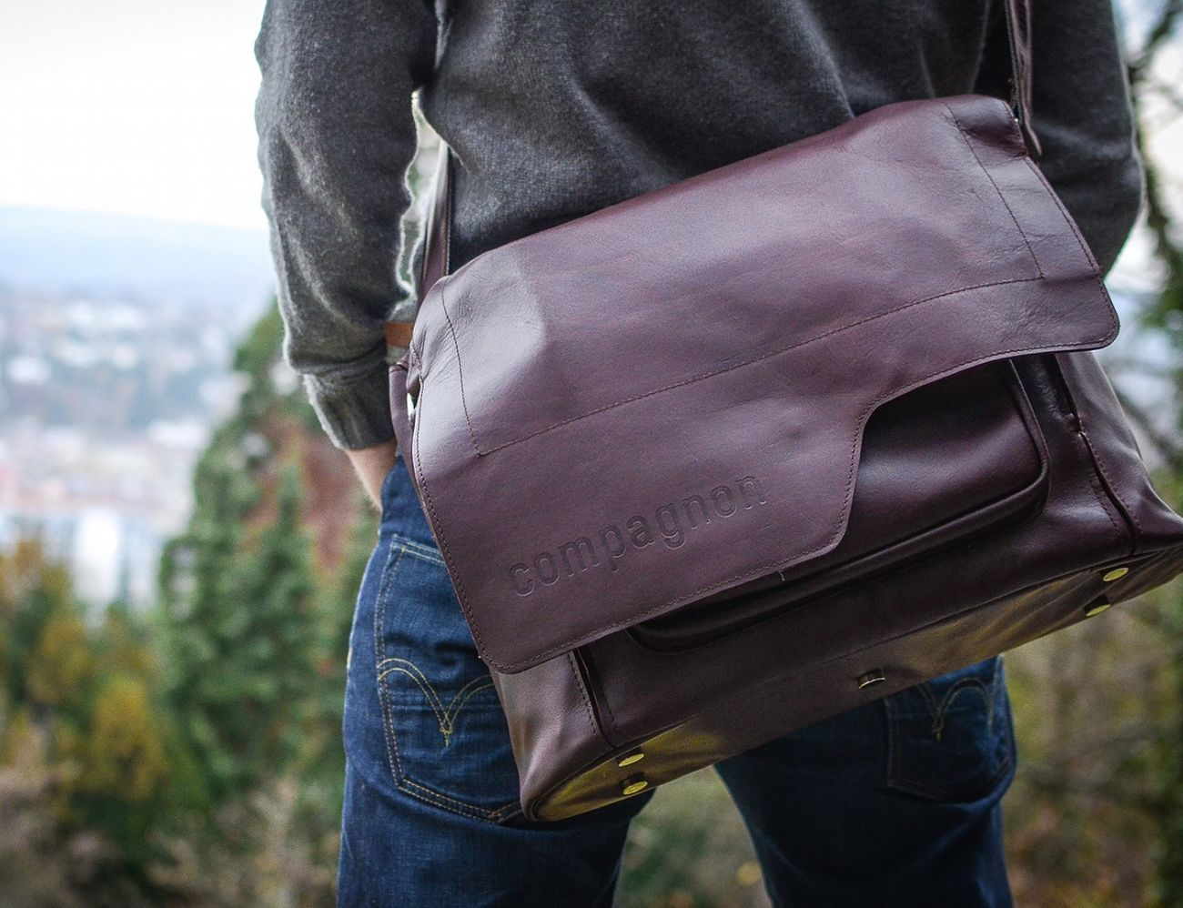 Compagnon – Leather Camera Bag