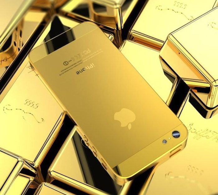 Golden-iPhone-5-Housing
