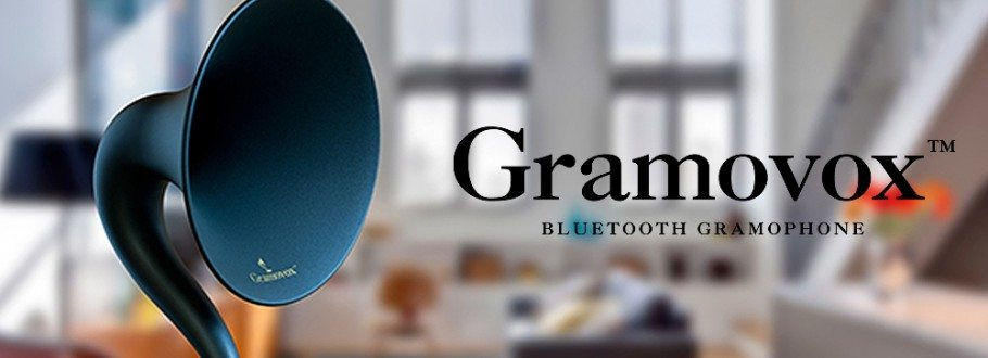 Gramovox Bluetooth Gramophone Streams Classic Vintage Sound in the 21st Century