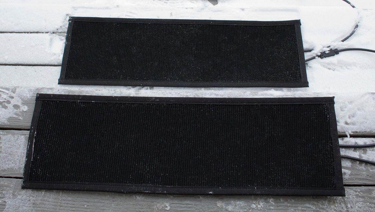 HeatTrak Residential Snow-Melting Stair Mat