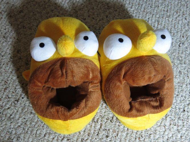 Homer Simpson Slippers for Men