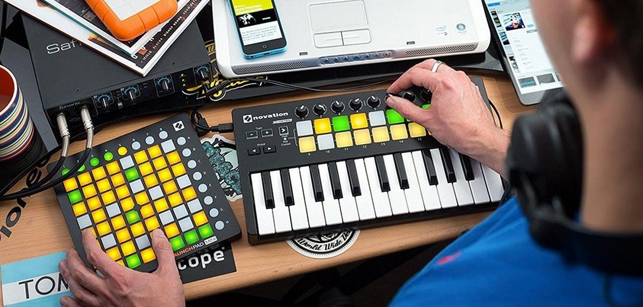 Launchpad Mini Music Controller