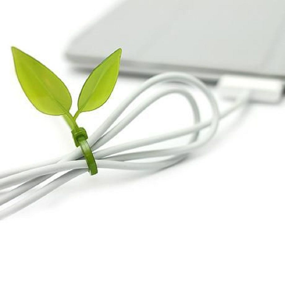 Leaf Cable Tie by Tsunho Wang
