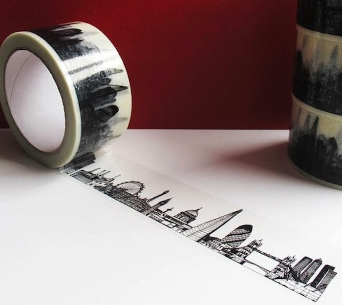 London-Skyline-Decorative-Sticky-Tap