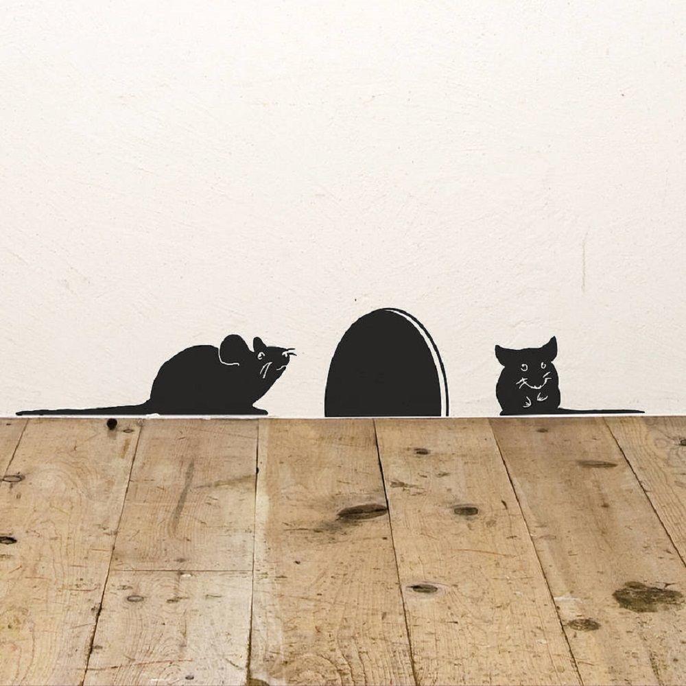 Mice+Vinyl+Wall+Sticker