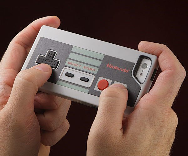 Nintendo+NES+Controller+Case+For+IPhone+SE%2F5s