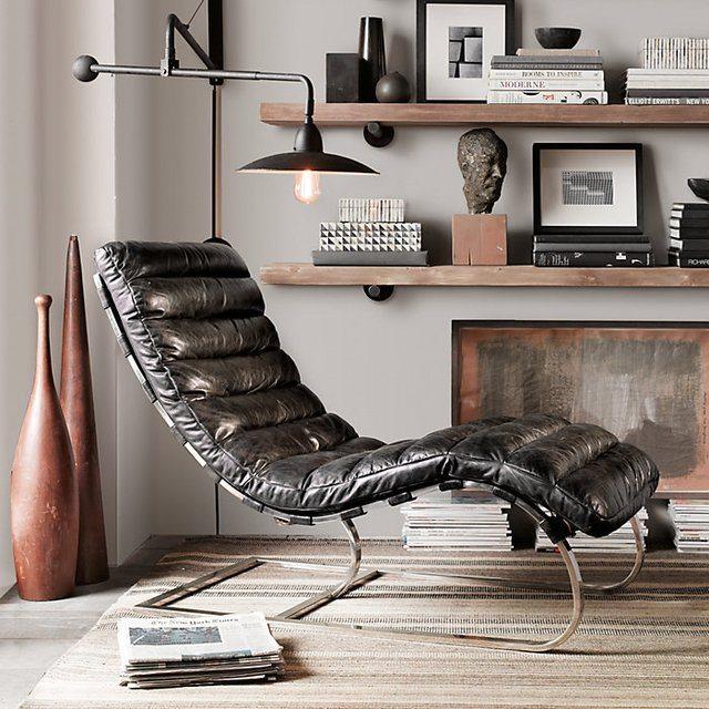Merveilleux Oviedo Leather Chair