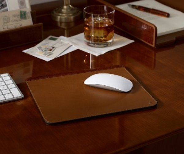 Ralph Lauren Moore Leather Mouse Pad