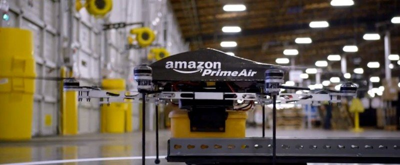 Product Delivery Within 60 Minutes — By Amazon Prime Air