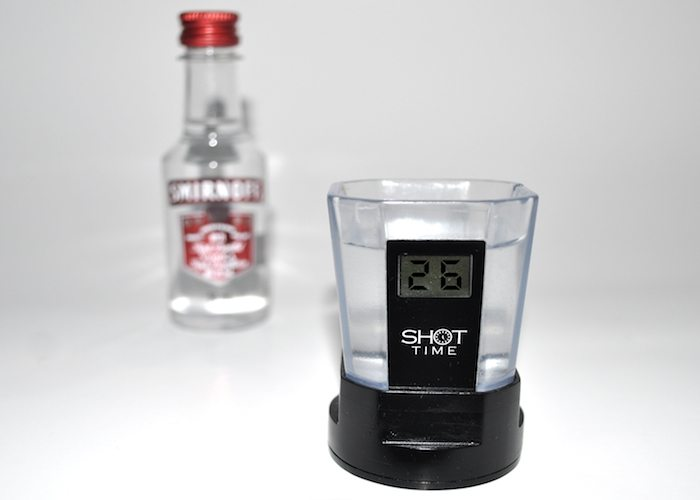 Shot Time: Smart Shot Glass