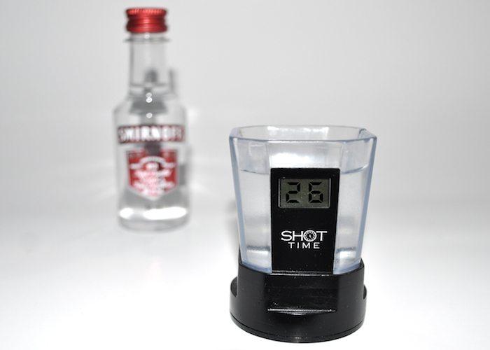 Shot Time: Smart Shot Glass