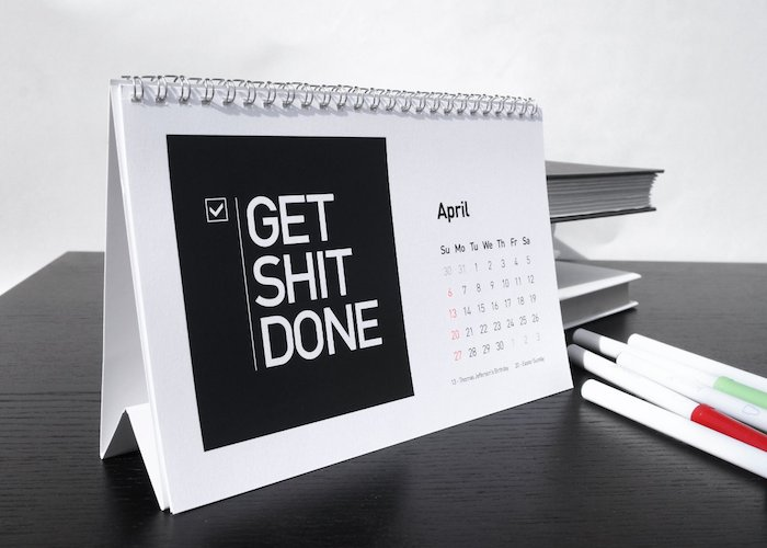 Calendar Design Quote : Reusable desk calendar with quotes quotesgram