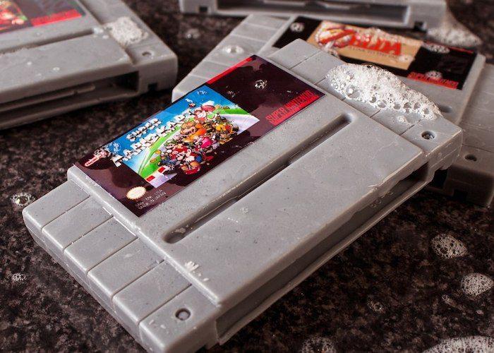 Super Nintendo Gamer Soap Cartridges