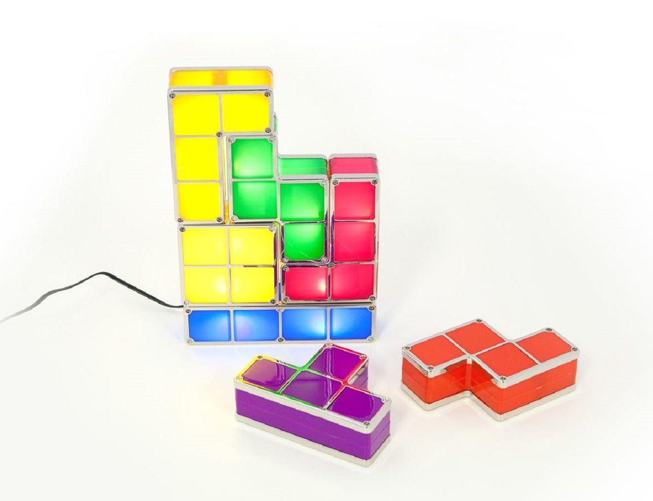 Tetris table lamp instalamps tetris table lamp geotapseo Gallery