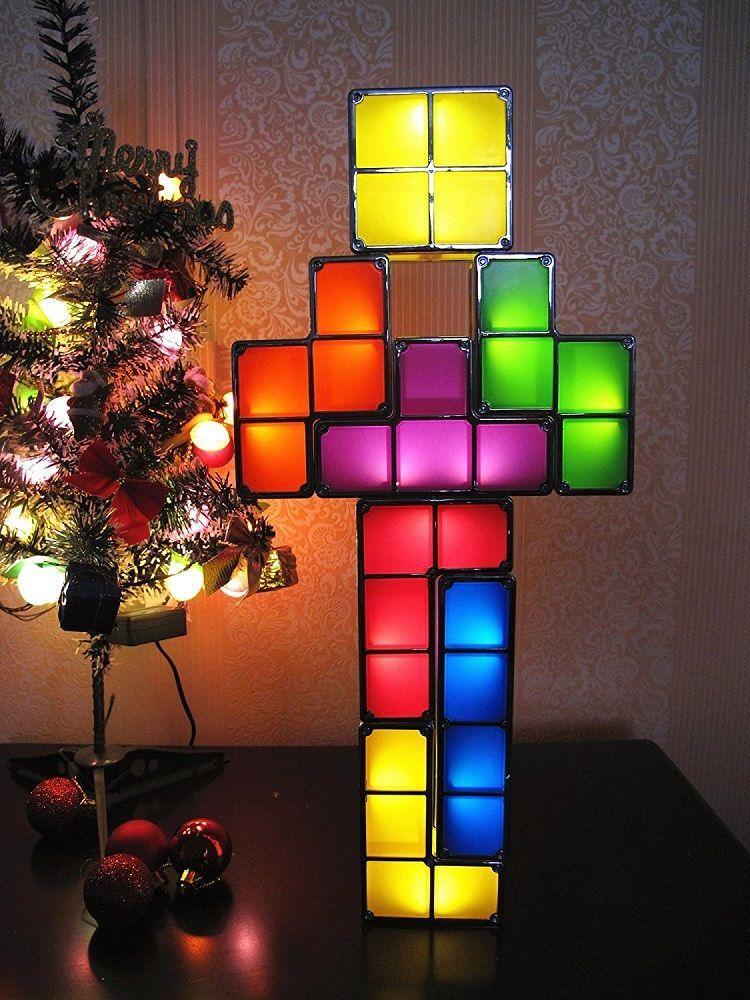 Tetris LED Desk Lamp Gadget Flow