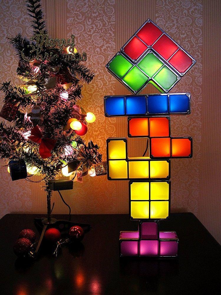 Tetris Led Desk Lamp 187 Gadget Flow