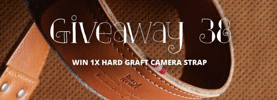 Giveaway of the Week #38 – Win 1X  Hard Graft Hang Camera Strap