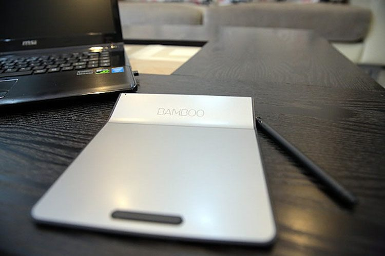 Wacom Wireless Bamboo Touch Pad